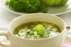 Рецепт капустного супа для похудения
