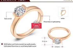 Как выбрать размер кольца на Aliexpress?