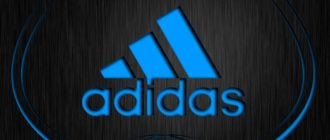 Adidas - мировой бренд по производству спортивной одежды