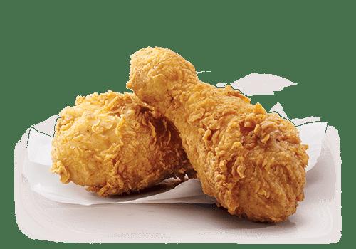 Знаменитые панированные ножки KFC