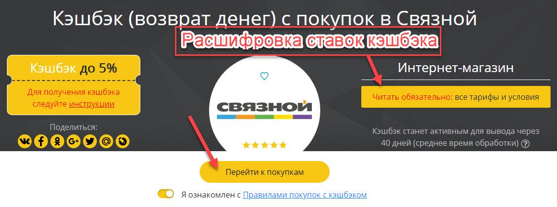 Страница интернет-магазина Связной в Секрет Дискаунтер