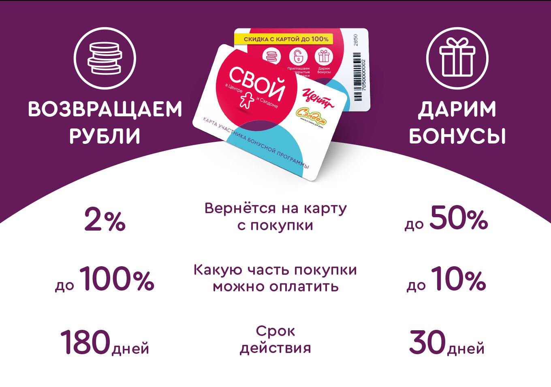 """Бонусная программа в Корпорации """"Центр"""""""