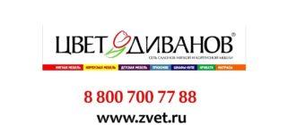 Цвет Диванов - крупная сеть по продаже диванов и корпусной мебели