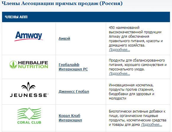 Российская Ассоциация прямых продаж